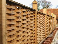 Beautiful Designer Fence Panels hand made from Oak-Quercus Fencing | | Highest…