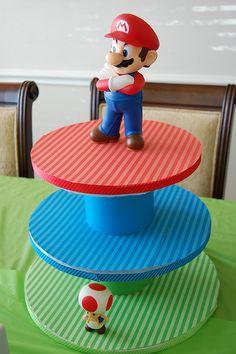 Mario Cupcake Stand