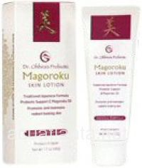 A revolutionary skin care product combines 21st Century technology with ancient Japanese fermentation skills and skin care formulas developed centuries ago. Product contains eight wild plants, two strains of lactic acid bacteria, aloe, peach and loquats metabolized in highly prized Magoroku (equine) oil.