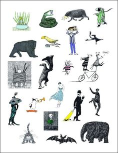edward gorey mystery poster -