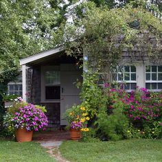 When I dream of cottage gardens, this is what I see.