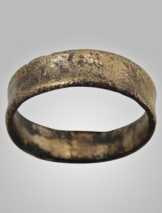 Ancient Viking Womens Wedding Band 866-1067A.D. Size 5 (15.8mm)