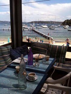 Sydney's Most Family-Friendly Cafes- Little Manly Beach Kiosk... super family-friendly... details on blog post