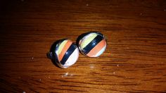 Items similar to Black orange and pink stripes on Etsy Pink Stripes, Gemstone Rings, My Etsy Shop, Gemstones, Orange, Nails, Check, Earrings, Shopping
