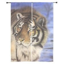 Daddys Tiger Curtains by MandMiMaging - CafePress Quilted Curtains, Curtain Designs, Daddy, Prints, Animals, Animales, Animaux, Animal, Animais