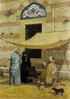 ::::ﷺ♔❥♡ ♤✤❦♡ ✿⊱╮☼ ☾ PINTEREST.COM christiancross ☀ قطـﮧ ⁂ ⦿ ⥾ ⦿ ⁂ ❤❥◐ •♥•*⦿[†] :::: Arzuhalci - Osman Hamdi Bey