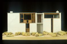 Louis Kahn, Esherick House Model, Philadelphia 1961