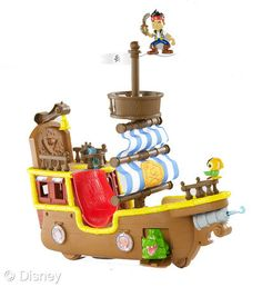 jake and the neverland pirates ship toy