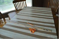 DIY History Timeline on sewing board. DSC_3219