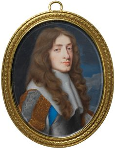 Samuel Cooper, portrait of James II, when Duke of York    James (1633-1701) was the brother of Charles II. This miniature possibly celebrates Charles's return from exile or James's secret marriage to Anne Hyde, who was Catholic. Both events took place in 1660.