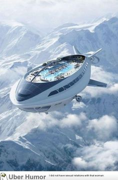 Daily Afternoon Randomness 50 Photos Daily Afternoon Randomness 50 Photos Brainad Future Fahren Zeppeline auch wie Ballons Dann w re so ein Zeppelin eine tolle nbsp hellip Room luxury night Zeppelin, Futuristic Architecture, Inventions, Science Fiction, Transportation, Sci Fi, Spaceships, Cruise Ships, Flying Ship