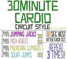 Workout. Mix this with the trx