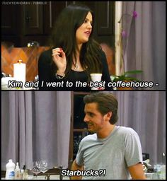 Only reason the Kardashian show is worth watching; his jokes