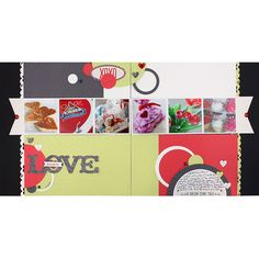 LOVE PS I Love You Scrapbook Layout Project Idea from Creative Memories. Products available through February 2013, while supplies last!