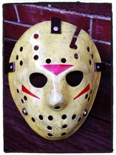 Ghoulish Creations Jason Voorhees mystery mask.