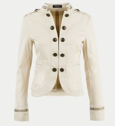 Manteau officier beige
