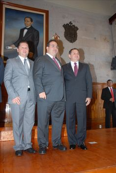El gobernador Javier Duarte de Ochoa toma protesta a Carlos Demunel Pitol en la ciudad de Xalapa