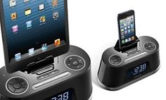 HMDX Bluetooth Speaker & Alarm Clock with Apple Lightning Pin Dock. Free Returns.