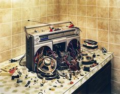 Deconstructed by David Emmite, via Behance