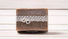 Wedding Ring Box Ring Holder Pillow Bearer by HandmadeDecoupage