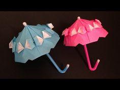 Origami Umbrella With Frillparasolinstructions