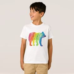 Baby Bear Watercolor Family Pride Kids Tee | #LGBTQ #pride