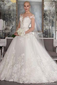 Romona Keveza Fall 2016 Luxe Bridal Wedding Dresses