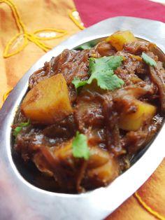 Recette indienne de pommes de terre aux épices