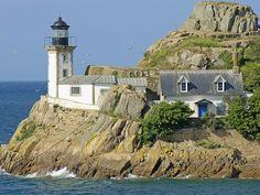 Ile Louët. Baie de Morlaix, Finistere, Brittany