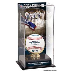 Chicago Cubs Fanatics Authentic 2017 Banner Raising Ceremony Sublimated Display Case with Image