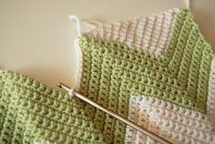 chevron baby blanket 6