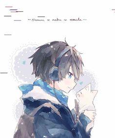 imagenes Anime Boys, Cool Anime Guys, Cute Anime Boy, Kawaii Anime Girl, Best Anime Drawings, Cute Drawings, Anime Chibi, Manga Anime, Japon Illustration