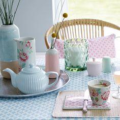 GreenGate Teapot Alice Pale Blue acheter en ligne | Emil & Paula