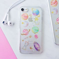 Holographic Space Galaxy Soft Silicone iPhone Case - iPhone 6, 6s, 6 Plus, 6s Plus, 7, 7 Plus, 8, 8 Plus, X