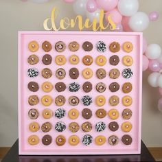 Donut Wall for Hire in Sussex!