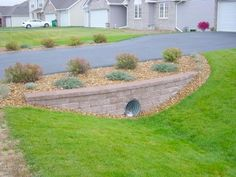mailbox landscaping with culvert Driveway Culvert, Driveway Entrance Landscaping, Mailbox Landscaping, Hillside Landscaping, Landscaping Supplies, Landscaping With Rocks, Modern Landscaping, Outdoor Landscaping, Outdoor Gardens