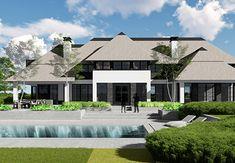 Villa B - interior Architecture Office, Classical Architecture, Villa Design, Modern House Design, Interior Garden, Interior And Exterior, Dream House Exterior, Classic House, Home Fashion