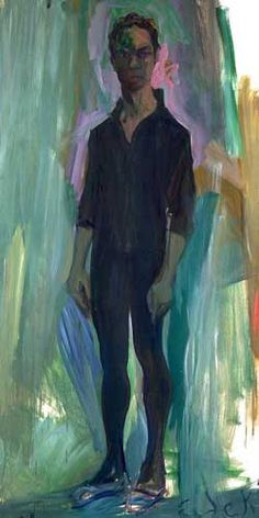 """Elaine de Kooning - Portrait of Merce Cunningham 