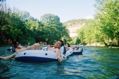 Tubing on the Guadalupe River - Spring Branch, TX