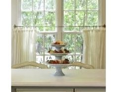 Beautiful Cafe Curtains Pottery Barn   Google Search