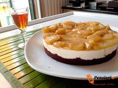 Cheesecake pere e cannella