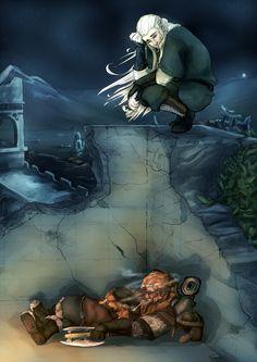 Horned Grizzly Inc. Legolas And Gimli, Tauriel, Thranduil, Tolkien Hobbit, Lotr, The Hobbit, Morgoth, Elder Scrolls, Middle Earth