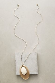Perigee Pendant Necklace #anthropologie