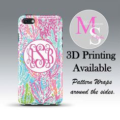 Monogram iPhone Case Personalized iPhone 6 6 by MonogramStyles