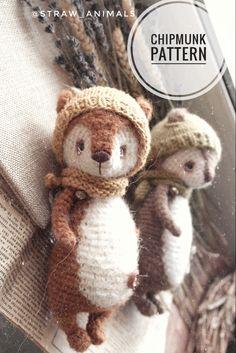 Diy Crochet Toys, Crochet Toys Patterns, Crochet For Kids, Amigurumi Patterns, Stuffed Toys Patterns, Crochet Baby, Knitting Patterns, Knitted Animals, Amigurumi Doll