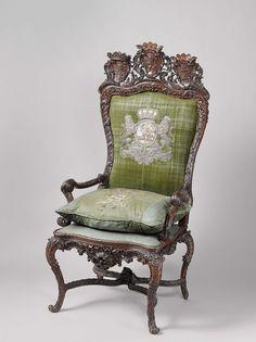 Stadtholder's chair, Gerrit Hutte, 1747