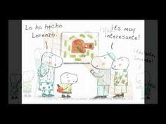 """""""El cazo de Lorenzo"""" es un sencillo cuento metafórico para hablar de las diferencias a los más pequeños.    Dedicado a esas personas extraordinarias que saben apreciar a todos los «Lorenzos» que arrastran un cazo por el mundo."""