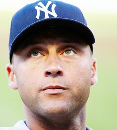 Derek Jeter~~ sexy damn smile, beautiful eyes, and not too shabby a bod for a 40 yr old!!
