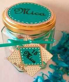caramelera souvenirs, frascos, 15 años, comunión, original!