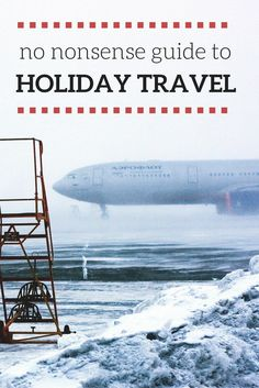 The holidays are the best time of year, But it's also a time full of stress! If you're one of 50 million Americans traveling this holiday season, you know what I'm talking about. This is your Fool-Proof, No-Nonsese Guide to Holiday Travel!